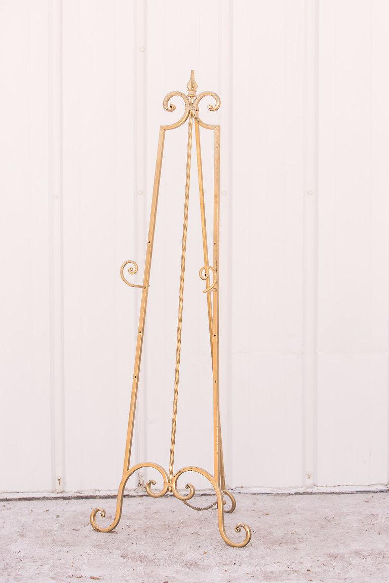 Floor Easels Decor Als Gold