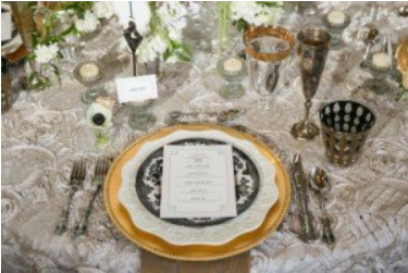 Gold Chargers 1 Gold Dust Event Co Planning Styling And Rentals